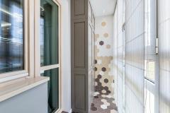 Двухкомнатная квартира по дизайн проекту Анны Бриц